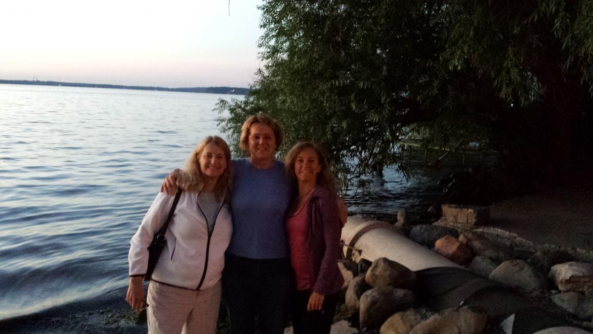 Lynn Stoller, Dr./Col. (Ret.) Pat Lillis  & Annie Okerlin, Madison WI 2014